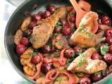 Панирано пилешко с вишнев аромат