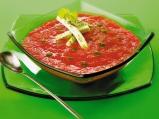 Студена доматена супа  с мариновано о...