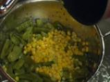 Царевична салата със зелен фасул 2
