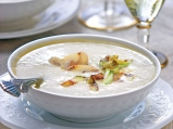 Супа от тиквички и кестени