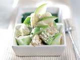 Плодова салата с овесени ядки