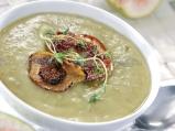 Крем супа със захаросани смокини