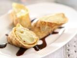 Палачинки с ганаш от бял шоколад