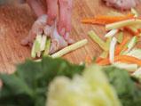 Пиле със спанак 2