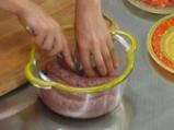 Наденица с картофи за микровълнова фурна