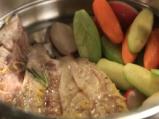 Скумрия на пара с торнирани зеленчуци 2