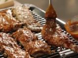 Свински ребра с барбекю сос и пържени картофи 5