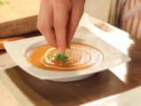 Супа от печени домати и маслинова паста 10