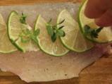 Риба на пара с женевски сос и пюре от тиквички 2
