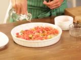 Тилапия с маслини и домати 2