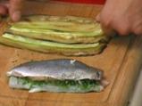 Рулована ципура със зеленчуци 3