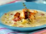 Супа от праз с бекон