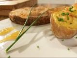 Толсотолоб с мармалад от лимони и гарнитура от печени пълнени картофи 6
