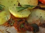 Мерлуза с картофи във фолио
