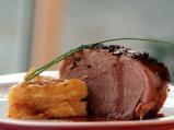Свинска плешка с картофи гратен