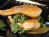 Пилешко филе със спанак 6