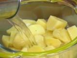 Картофени кюфтета с кренвирши