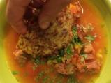 Супа от пушени ребра с картофена бисквитка 6