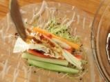 Букет от зеленчуци в оризови листа 4