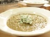 Супа от зелена леща със спанак 4