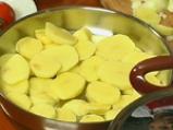 Картофи с булгур