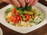 Ориз със зеленчуци в уок 6
