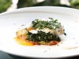 """Яйца по флорентински със сос """"Морне"""""""