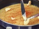 Мезе от качамак с орехи и печени пиперки 3