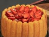 Ягодова торта с бишкоти 6