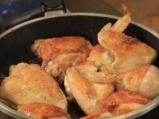 Печено пиле с ароматна коричка и маслини 2