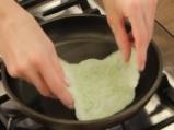 Спаначена тортиля с пилешко филе 5