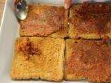 Лазаня от филийки с доматено песто и козе сирене 2