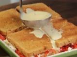 Лазаня от филийки с доматено песто и козе сирене 5