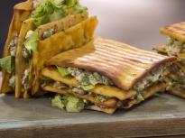 Хрупкав вегетариански сандвич