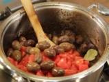 Телешко рагу с билки и маслини 5
