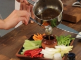 Баня кауда с хрупкави зеленчуци 5