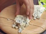 Кекс с праз и синьо сирене 2