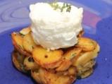 Яйчно суфле с картофи 9