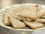 Бадемови бисквити с бял шоколад