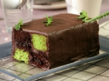 Батенберг кейк с шоколад и мента