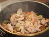 Пиле по градинарски 3