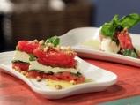 Терин от моцарела, домати и босилек