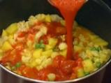 Къри с карфиол, картофи и грах 3