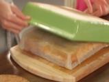 Обърнат кейк с круши 6