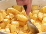 Поширани яйца с риба и картофи 4