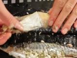 Поширани яйца с риба и картофи 5