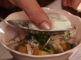 Поширани яйца с риба и картофи 9