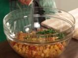 Салата от нахут с царевица и кимион 4