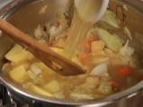 Зелева супа с бекон и горчица 3