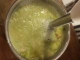 Бобена супа с праз и тиквички 3